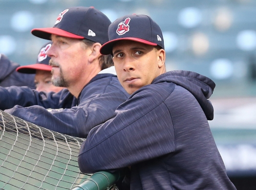 Cleveland Indians' Michael Brantley says he's ahead of schedule in comeback from shoulder problems