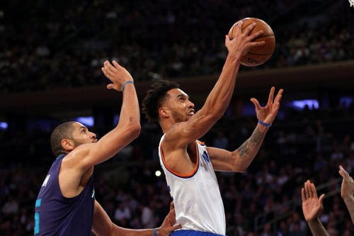 Knicks 110, Hornets 107: 'Horny better keep that bow tie'