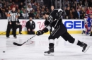 Los Angeles Kings Carter and Doughty Participate in Skills Competition