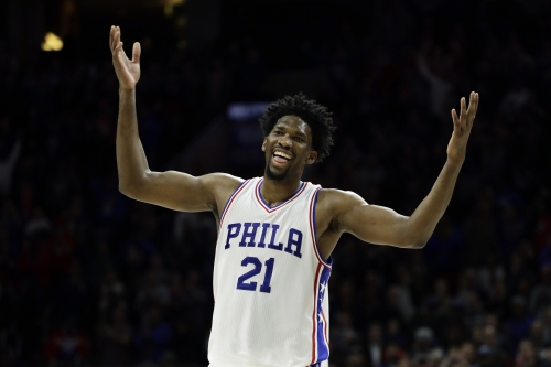 76ers C Embiid to sit out next 3 games with knee injury The Associated Press