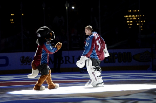 With Semyon Varlamov definitely done for season, Calvin Pickard stakes out the Avalanche net