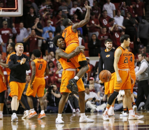 Bedlam basketball: Forte's 3-pointer gives Cowboys Bedlam win