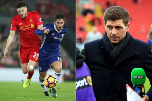 Steven Gerrard and Howard Webb go head to head over controversial Chelsea opener