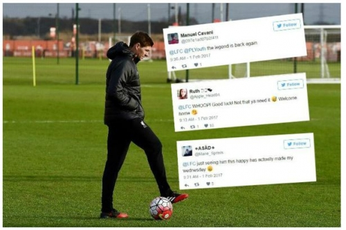 'The legend is back' - Liverpool fans react to Steven Gerrard's first day as Academy coach