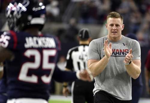 Houston's JJ Watt healthy and ready to do more than before The Associated Press