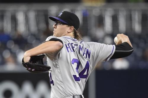 Colorado Rockies prospect Jeff Hoffman has top of the rotation stuff