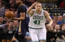 Kelly Olynyk joins Avery Bradley on the shelf for Celtics-Raptors game