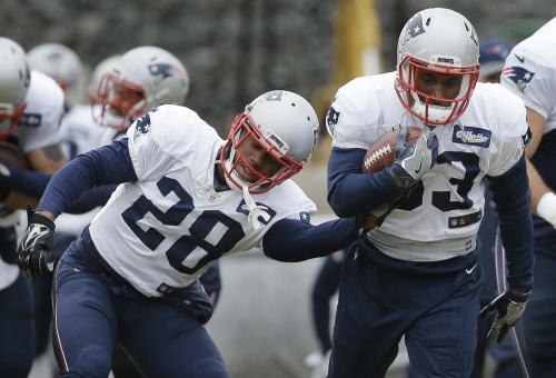 Health, bonding contributed to Patriots backs' success The Associated Press