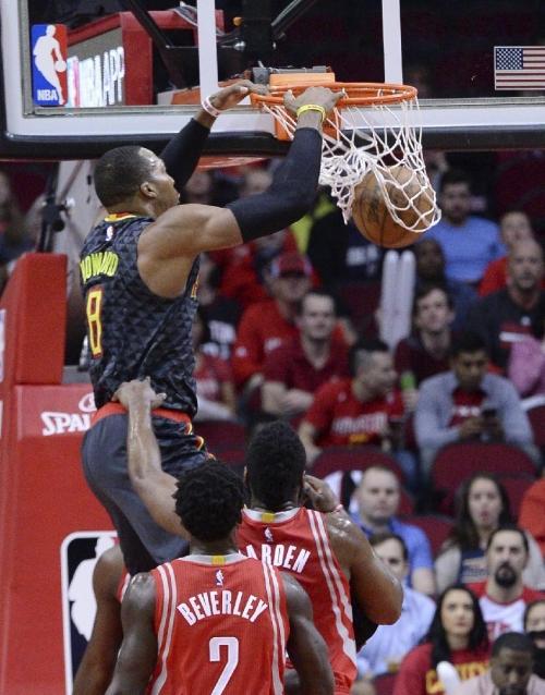 Howard has 24 points, 23 rebounds in Rockets' win over Hawks The Associated Press