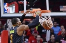 Howard has 24 points, 23 rebounds in Hawks' win over Rockets