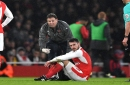 Aaron Ramsey misses Arsenal's game with Chelsea after being ruled out for three weeks