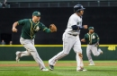 The Mariners hope to find production in the platoon of Daniel Vogelbach and Danny Valencia at first base