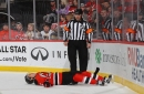 Devils' John Moore shares scary details of concussion, his worst of moment of hockey career