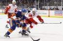 Islanders vs. Red Wings: Clutterbuck, Hickey return