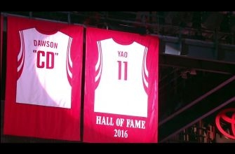 Houston Rockets honor Yao Ming with jersey retirement ceremony