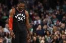 Raptors' Patrick Patterson leaves Magic game with injured knee