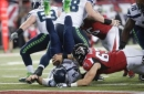 Two-way Garland: Falcons lineman plays offense and defense