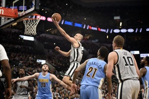 San Antonio vs. Denver, Final Score: Spurs cruise past Nuggets 121-97