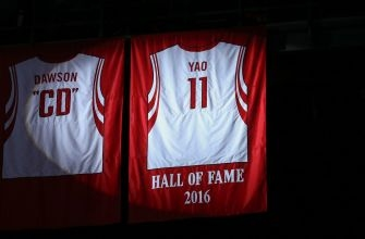 Yao Ming Finally Gets His Jersey Retired In Houston