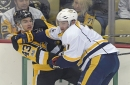 Brian Metzer: Penguins wingers sharing role left by Conor Sheary's injury