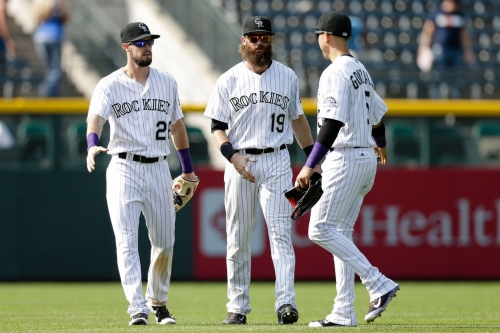 Colorado Rockies outfielders could rearrange but don't need to