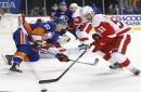 Red Wings' Frans Nielsen on short-term IR; Steve Ott activated