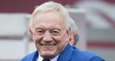 LOOK: Jerry Jones gets measured for his Pro Football Hall of Fame bust