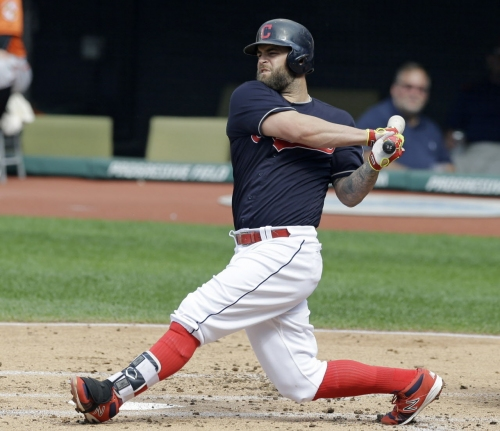 Cleveland Indians free agent Mike Napoli takes one-year contract with Texas Rangers