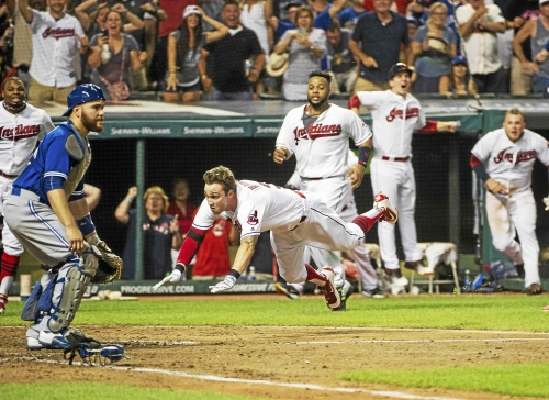 Cleveland Indians' Tyler Naquin wary of complacency