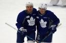 Maple Leafs' Leo Komarov feeding off the kids