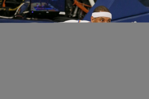 Knicks end night of Oakley chaos in fittingly crushing fashion