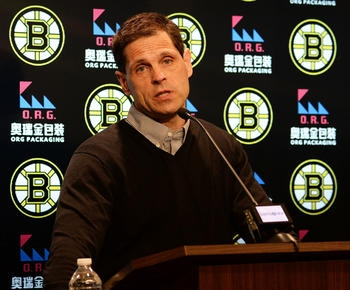 Cam Neely admits the Bruins roster 'needs help'
