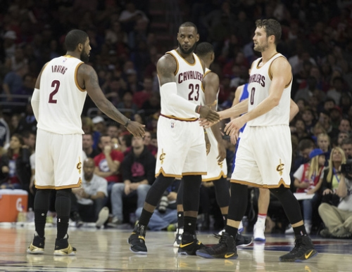 James, Irving, Love all play for Cavaliers against Thunder The Associated Press
