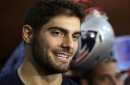 Josh McCown says Jimmy Garoppolo has the potential 'to carry a franchise'