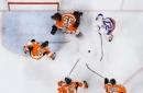 Chimera, Greiss lead Islanders to 3-1 win over Flyers