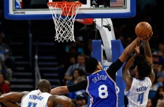 Orlando Magic can't hold on, lose by one point to 76ers