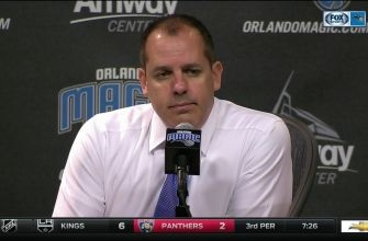 Frank Vogel - Team didn't respect game in first half