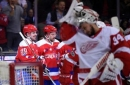 Zero shots for Ovechkin; Oshie leads Caps past Red Wings 6-3