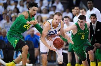 No. 10 UCLA rallies to beat No. 5 Oregon 82-79