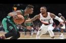 Watch: Al-Farouq Aminu scores season-high 26 points in Trail Blazers loss to Boston Celtics