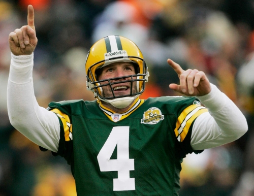 Brett Favre doesn't know where his Super Bowl jersey is either