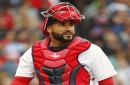 Sandy Leon doesn't believe he's the Red Sox starting catcher