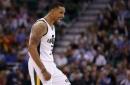 Utah Jazz: George Hill Misses Mavericks Game with Toe Soreness