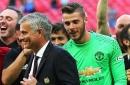 David de Gea is happy at Manchester United says Jose Mourinho