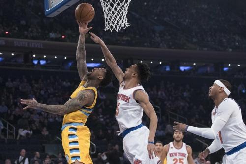 Jokic scores career-high 40, Nuggets beat Knicks 131-123 The Associated Press
