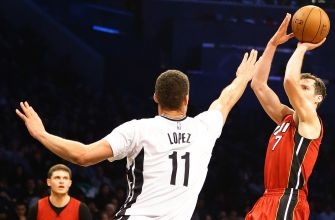 Nets Torched Against Red-Hot Heat
