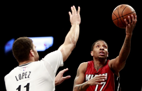 Johnson scores 26, Heat beat lowly Nets for 13th straight The Associated Press