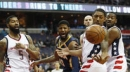 John Wall's late flurry lifts Wizards past Pacers 112-107