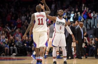 LA Clippers' Guards Chris Paul and Jamal Crawford Named Top Playmakers