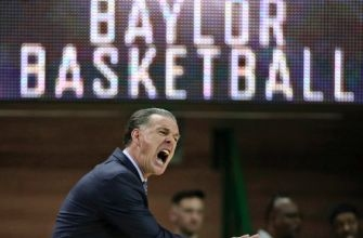Motley's 25 points lead No. 6 Baylor in 70-52 win over TCU